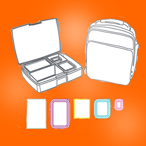 lunchbox with bag design