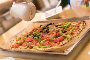 пица от карфиол за lunchbox
