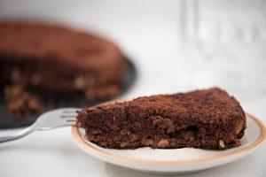 chocolate gluten free nut cake