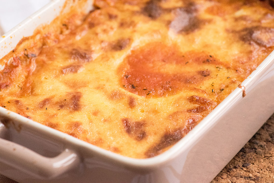 cornmeal and cheese topping for lunchbox
