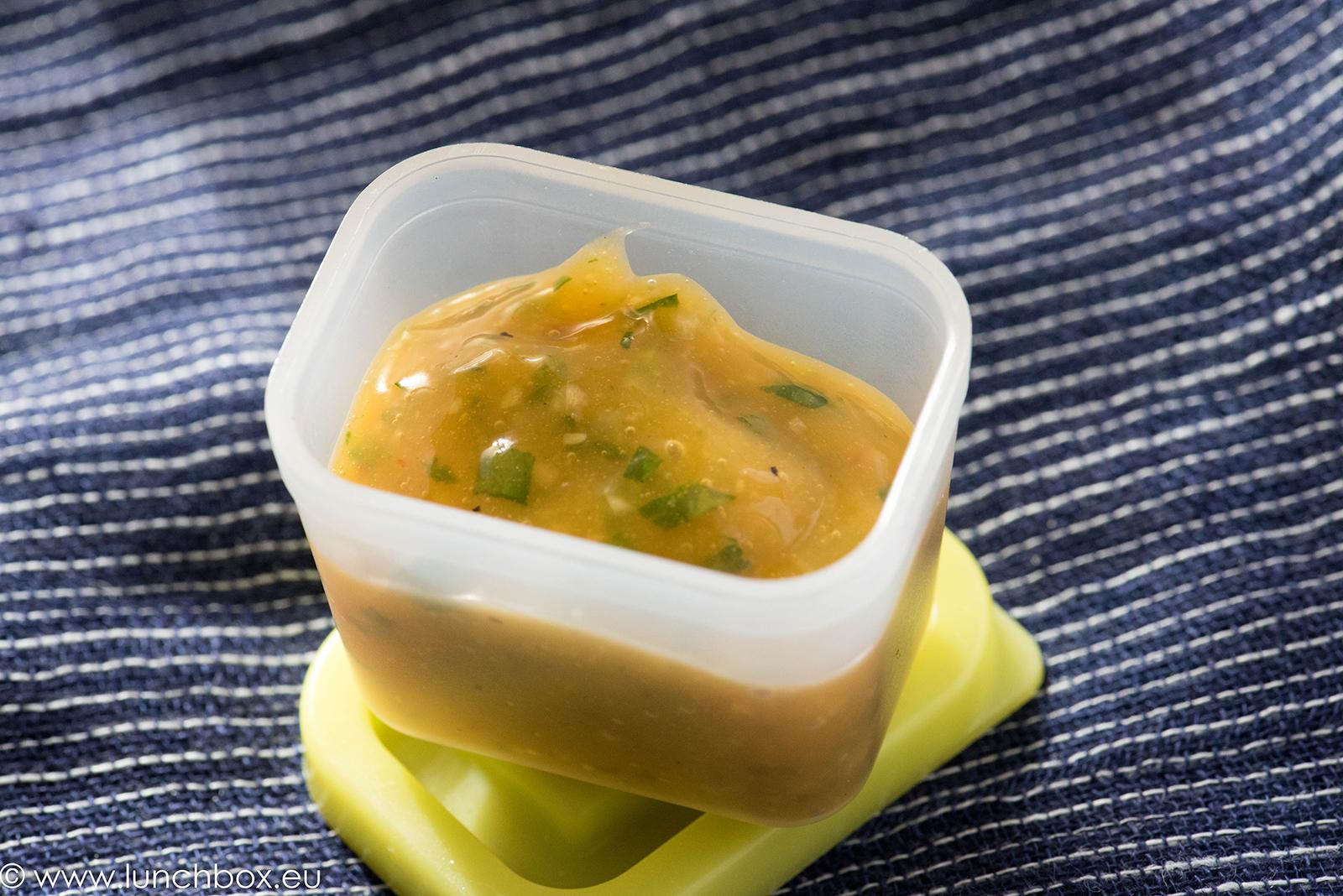 манго сос забели меса и риба
