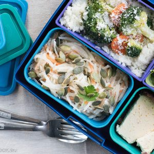 Lunchbox menu portion perfect Ориз от карфиол