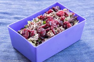 bulgar salad with fennel and herbs