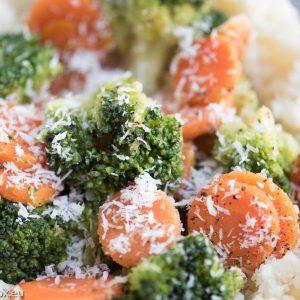 Ориз от карфиол със зеленчуци