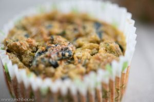 low carbs muffin