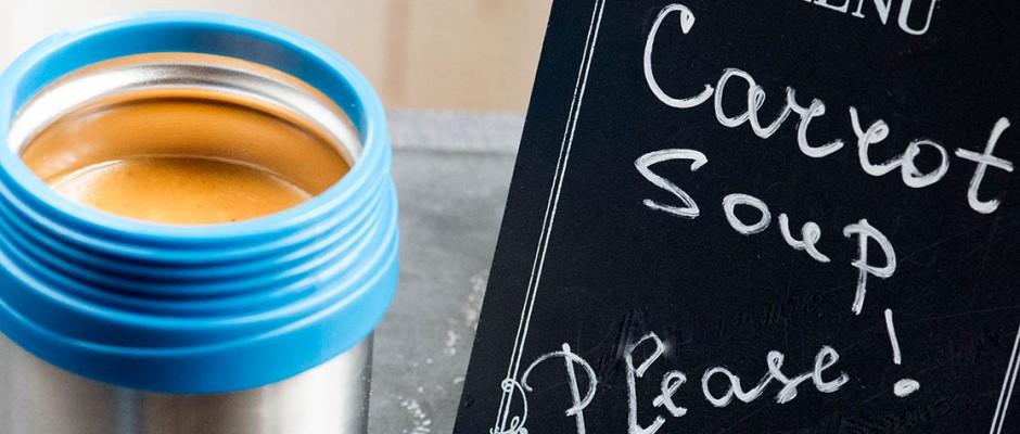 Крем супа от моркови и джинджифил