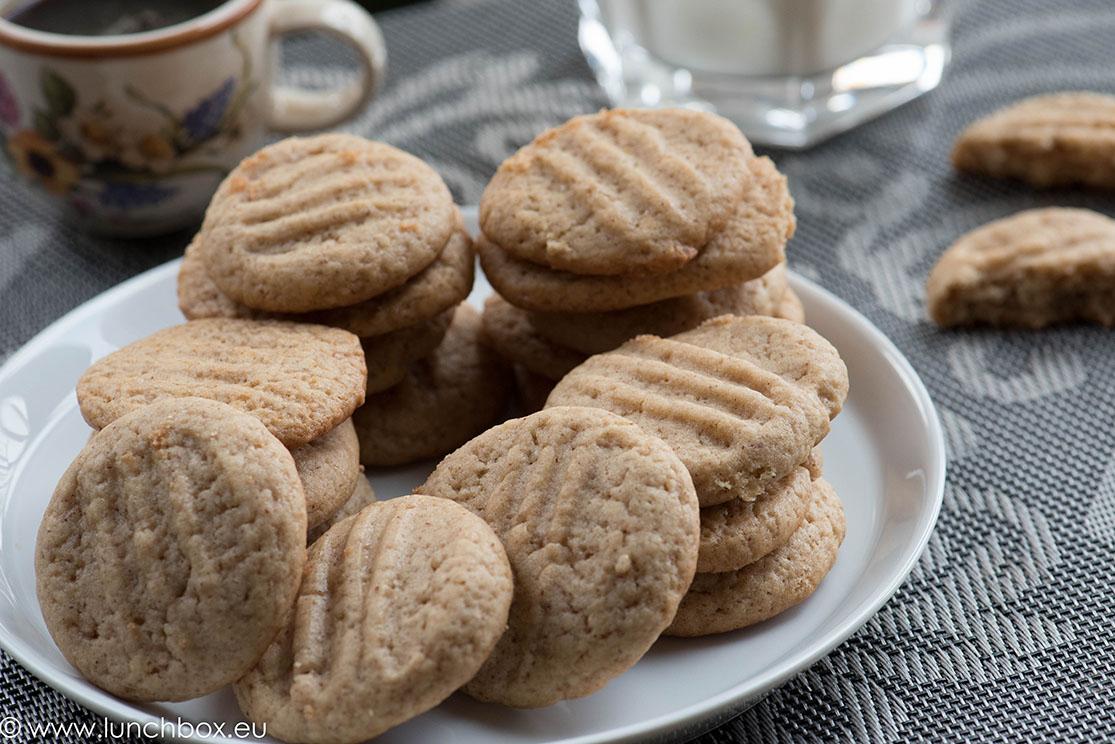 бисквити с фъстъчено масло за Lunchbox