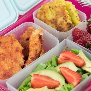lunchbox menu Пилешки хапки Палео