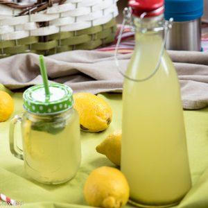 лимонада с мед и джинджифил