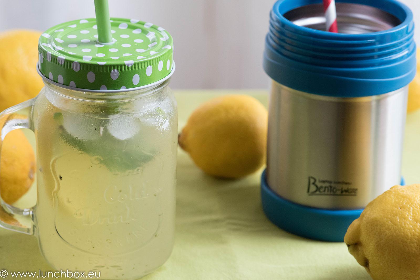 лимонада с мента и джинджифил