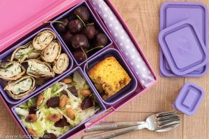 Lunchbox Lavender menu: пикник колелца