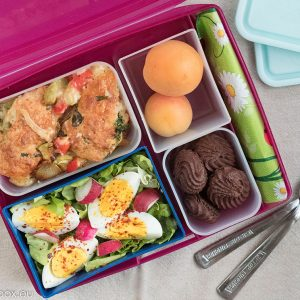 lunchbox menu коблер с тиквички
