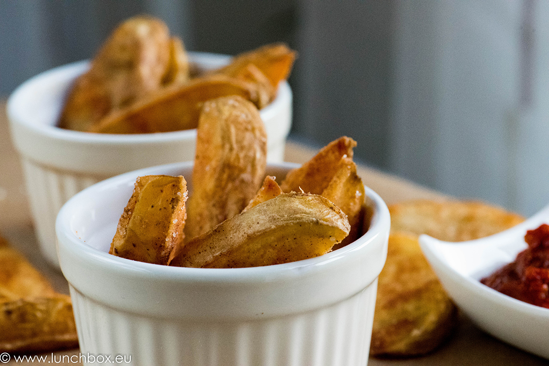 how to make potato wedges easy