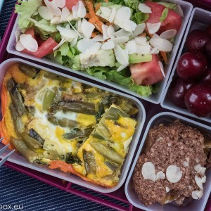 Lunchbox menu Нсковъгехидратен киш