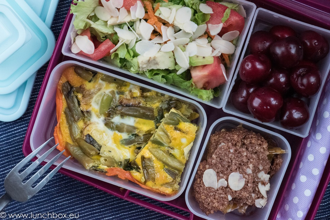 Lunchbox menu Нсковъгехидратен киш