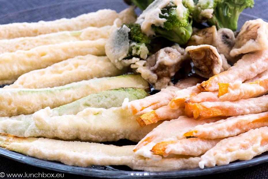 зеленчуци в темпура