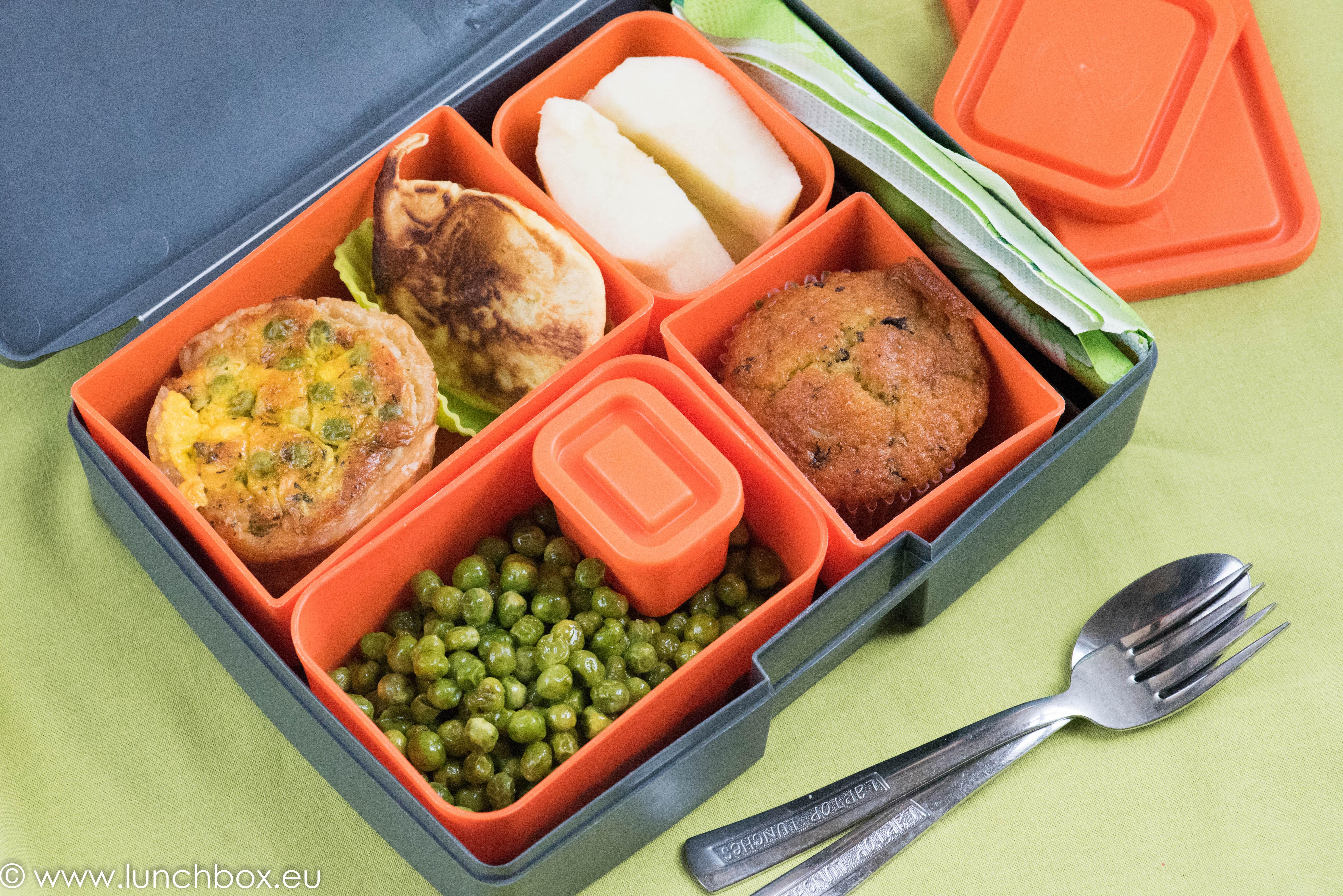 Lunchbox menu exotic