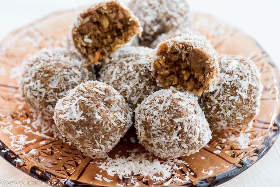 Nut Free Vegan Carrot Balls