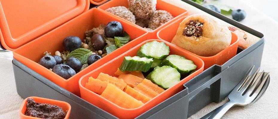 lunchbox меню - веган тарта с авокадо