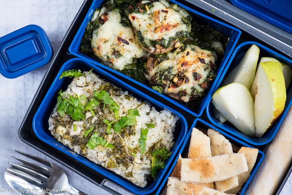 Lunchbox menu печени гъби
