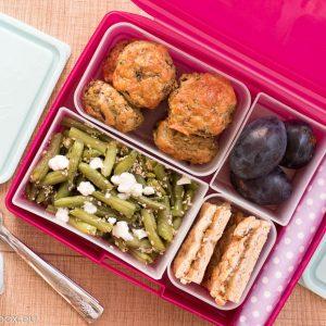 Lunchbox меню: Пилешки хапки без глутен