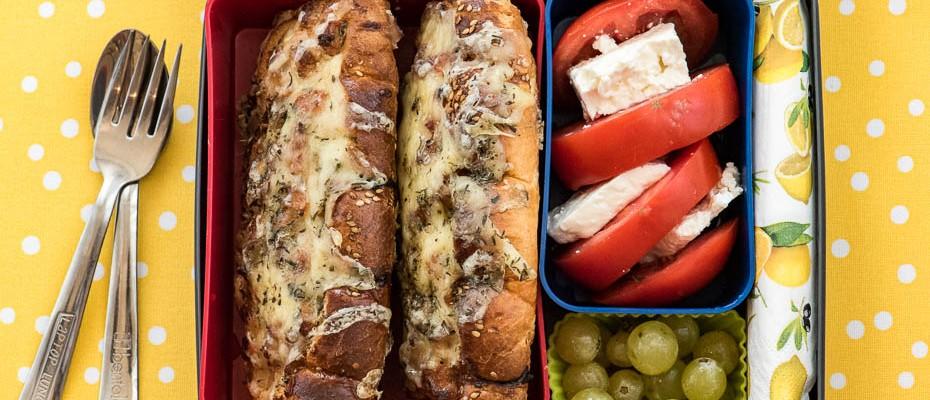 Lunchbox menu Healthy sandwich