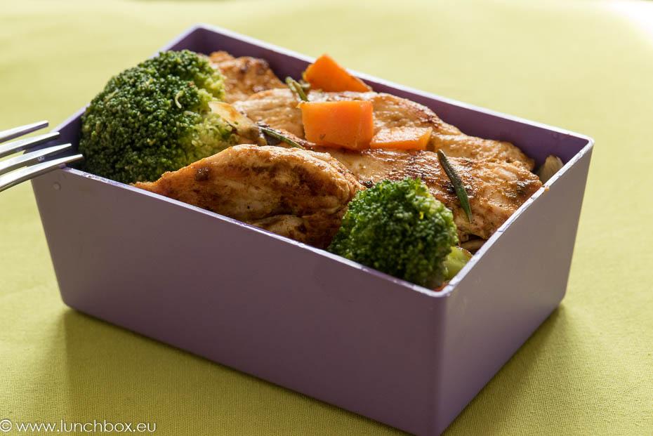 пилешко с броколи и розмарин