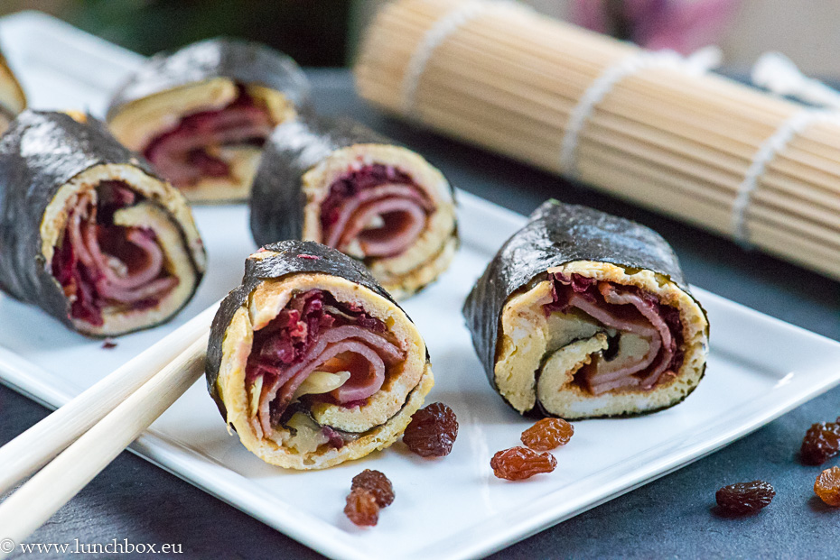 sushi rolls carb free