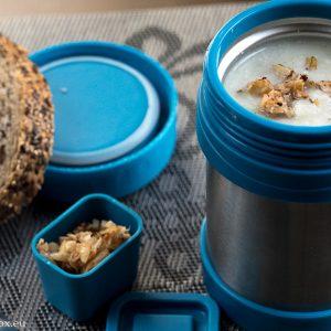 Cauliflower almond soup