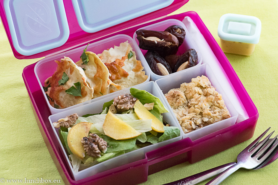 Lunchbox menu: Равиоли с праз