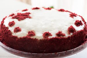Новогодишно торта Червено кадифе
