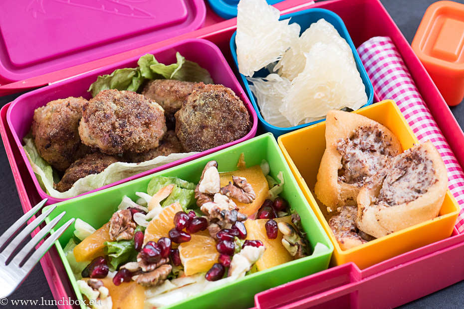 Lunchbox menu: Кюфтенца с джинджифил