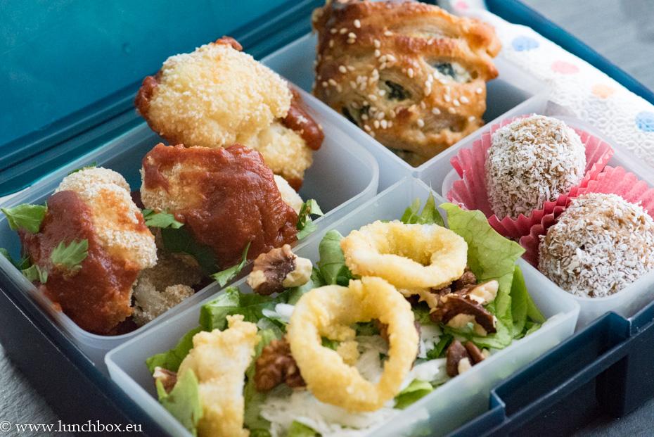 Lunchbox light menu: Хрупкав карфиол
