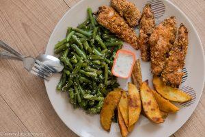 пилешки хапки с орехова коричка