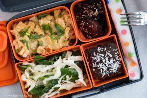 Lunchbox menu: Бърз пилишки пай