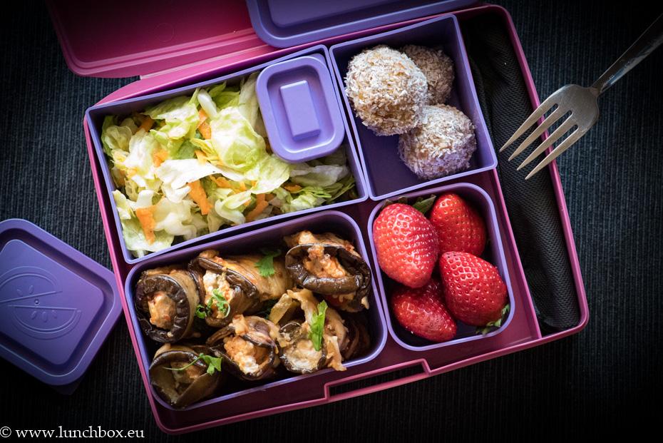 Lunchbox патладжан с рикота
