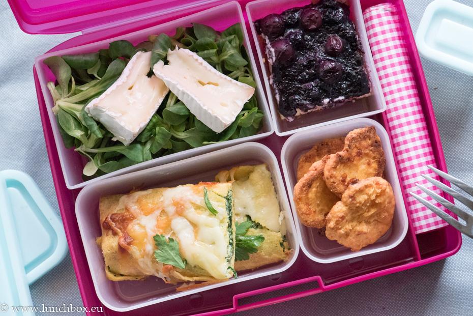 lunchbox царевични палачинки