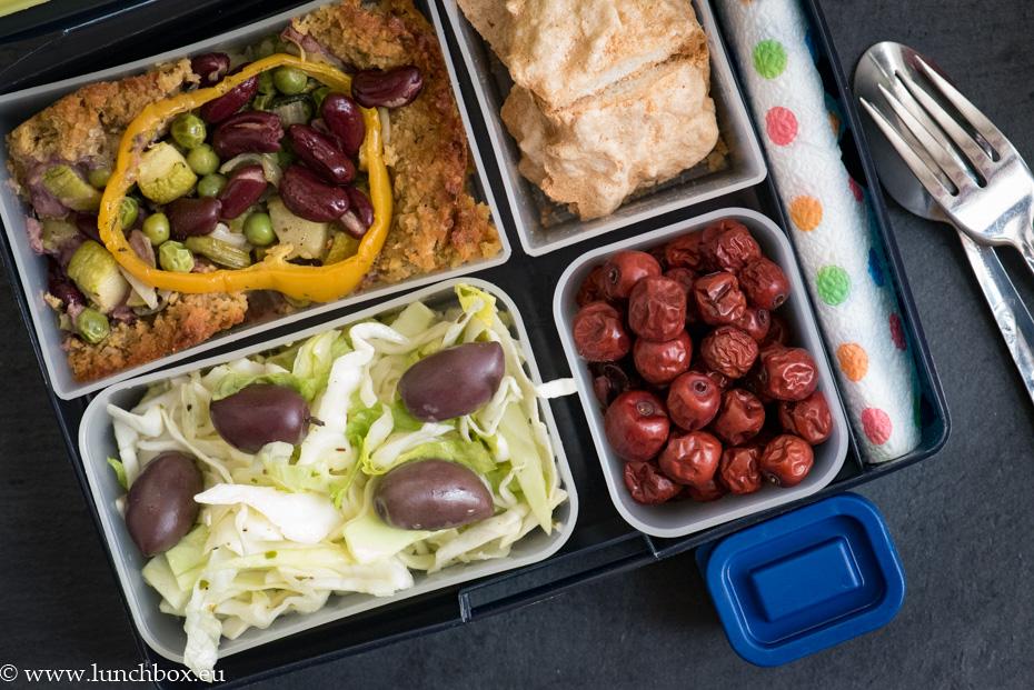 Lunchbox menu Веган тарта с нахут