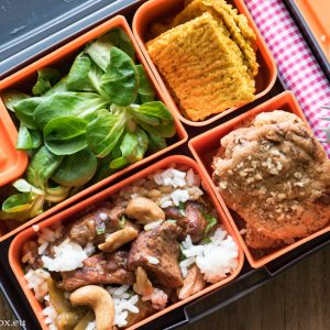Lunchbox pork stirfry