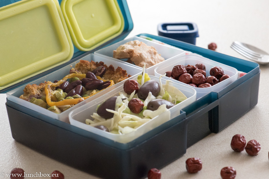 Lunchbox menu: Веган тарта с нахут
