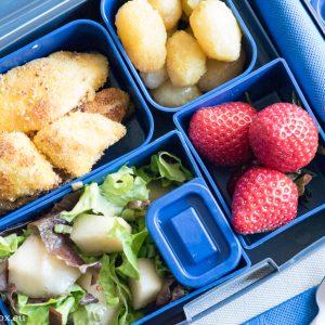Lunchbox menu Lemon chicken