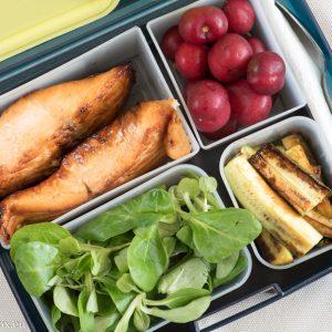 lunchbox menus глазирана сьомга