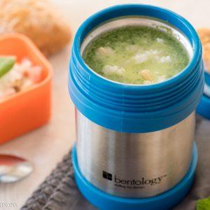 Крем супа от спанак на пара в Lunchbox Термос