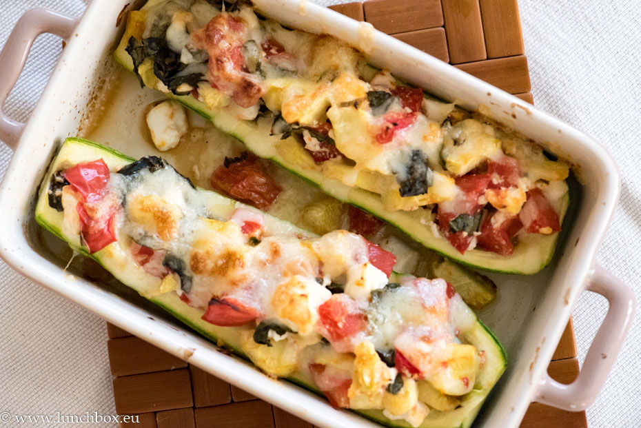 Stuffed-courgettes