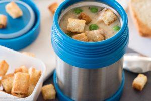 Кремообразна пилешка супа