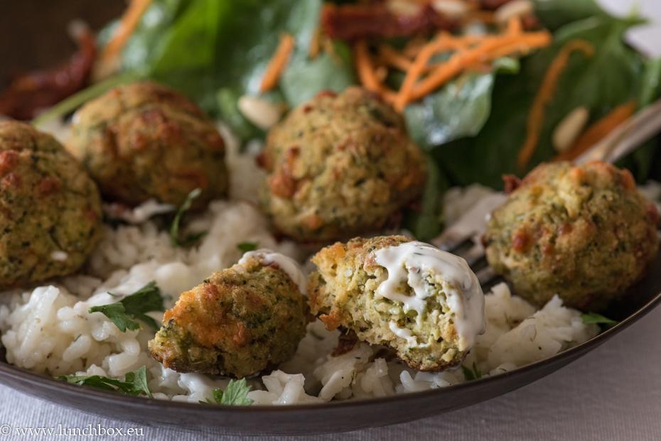 broccoli balls for lunchbox