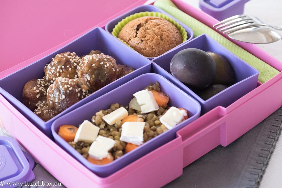 Кутия за храна Lunchbox Лавандула
