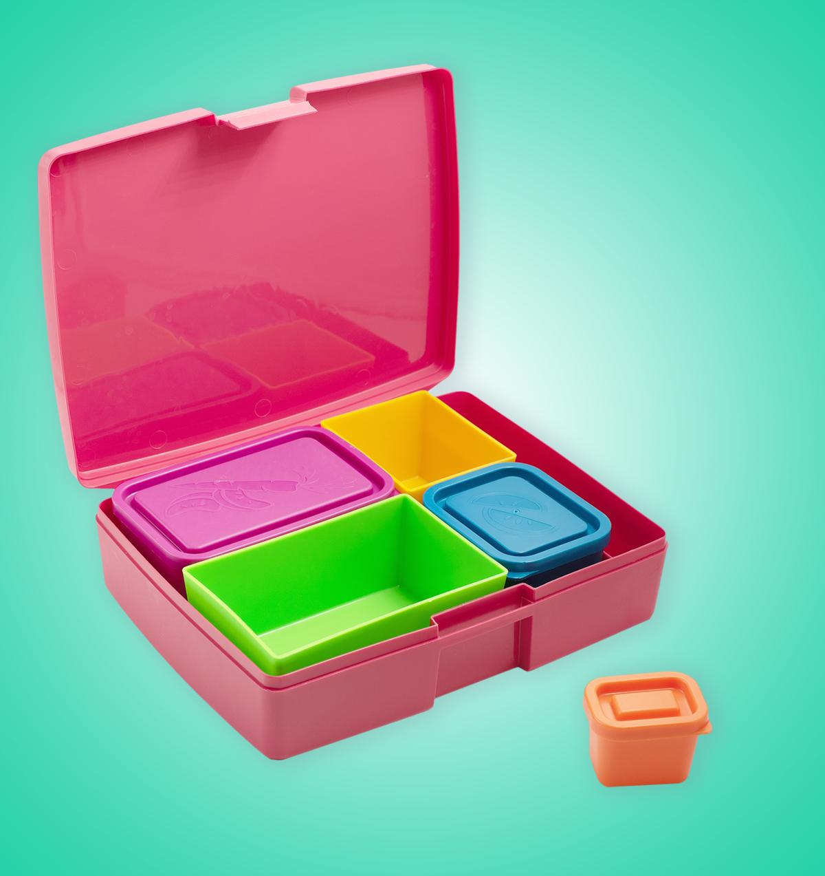 Кутия за храна Lunchbox Корал