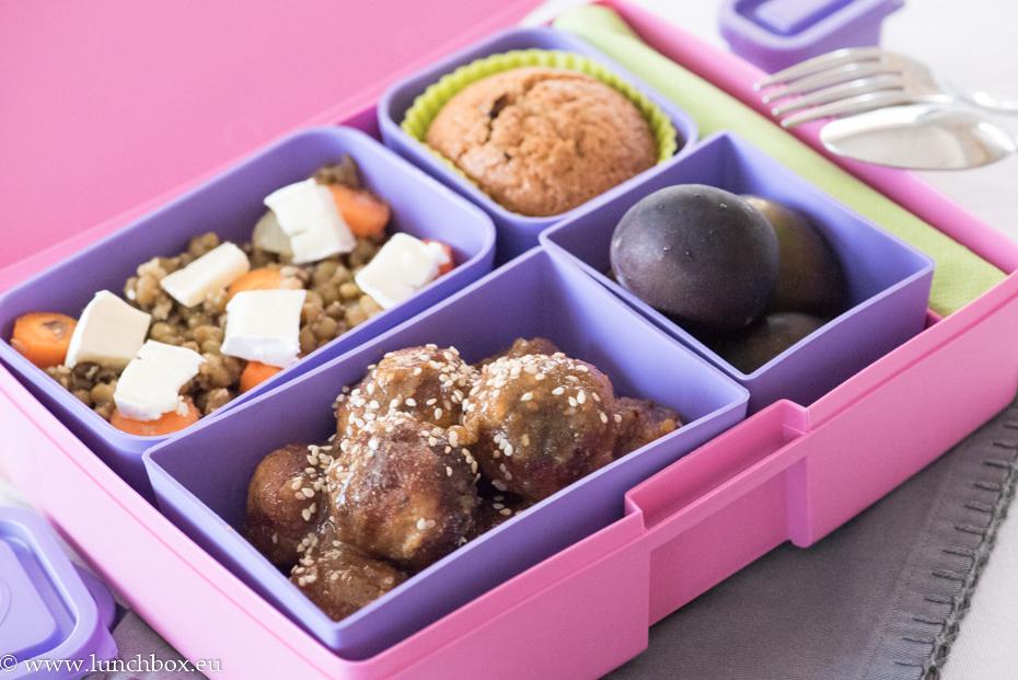 lunchbox menu в кутия за храна Лавандула