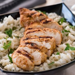 Ароматни пилешки филета по арабски